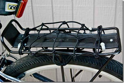 Bungee Cargo Net on Rack