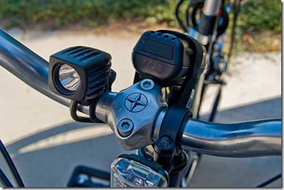 NiteRider MiNewt Mini-USB Front View