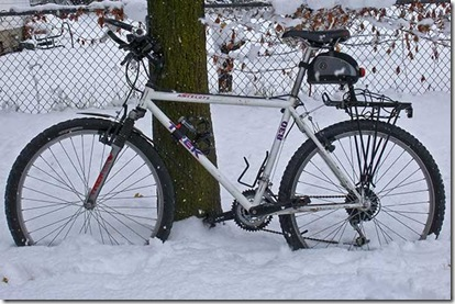 Trek 830 In Snow