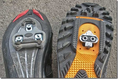 Clipless Cleat Comparison (Look and SPD)